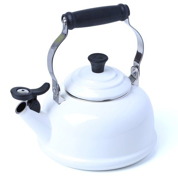 Enamel On Steel 1.8 Qt. Whistling Stovetop Kettle by Le Creuset