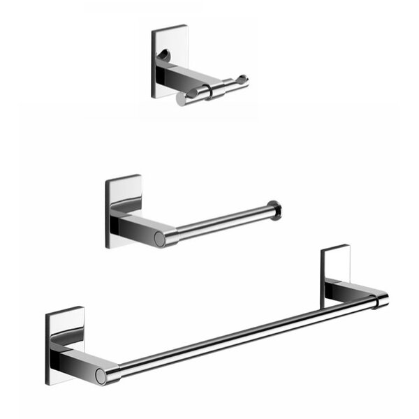 Maine 3 Piece Bathroom Hardware Set by Gedy by Nameeks