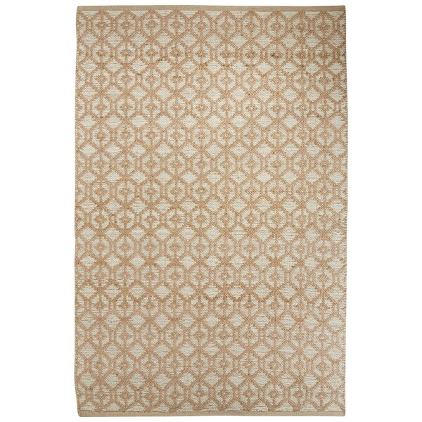 Subra Hand-Woven Ivory/White Area Rug by Nikki Chu