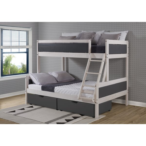 Darvin Twin Standard Over Full Bed by Harriet Bee