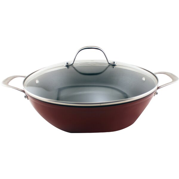 CookNCo Oval Braiser with Lid by BergHOFF International