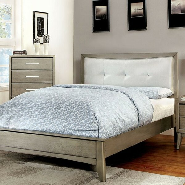 Grigor Upholstered Platform Bed by Wrought Studio