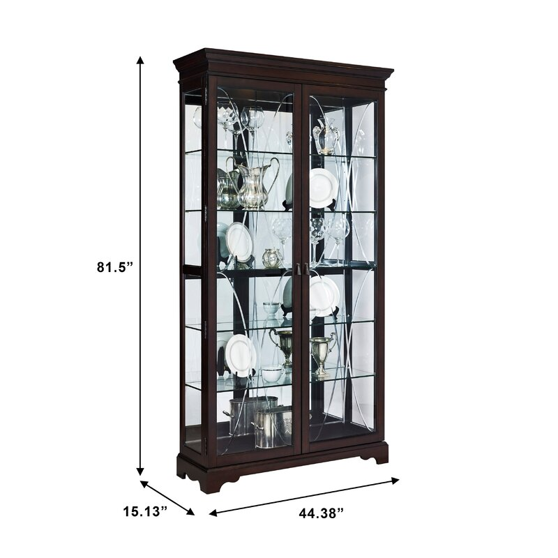 Darby Home Co Blakeway Curio Cabinet