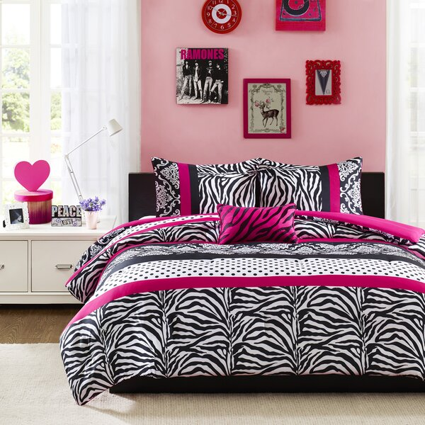 Adam Comforter Set by Harriet Bee