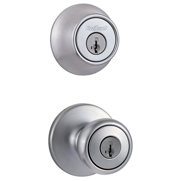 Polo Single Cylinder Entrance Knobset by Kwikset