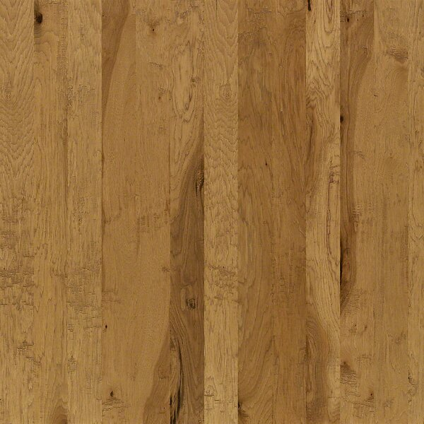 5 Engineered Hickory Hardwood Flooring in Golden Wheat by Welles Hardwood