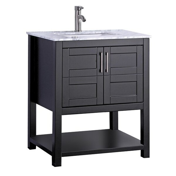 Mallouk Modern 30 Single Bathroom Vanity Set by Ivy Bronx