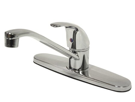 Legacy Single Handle Kitchen Faucet with Optional Side Spray by Kingston Brass