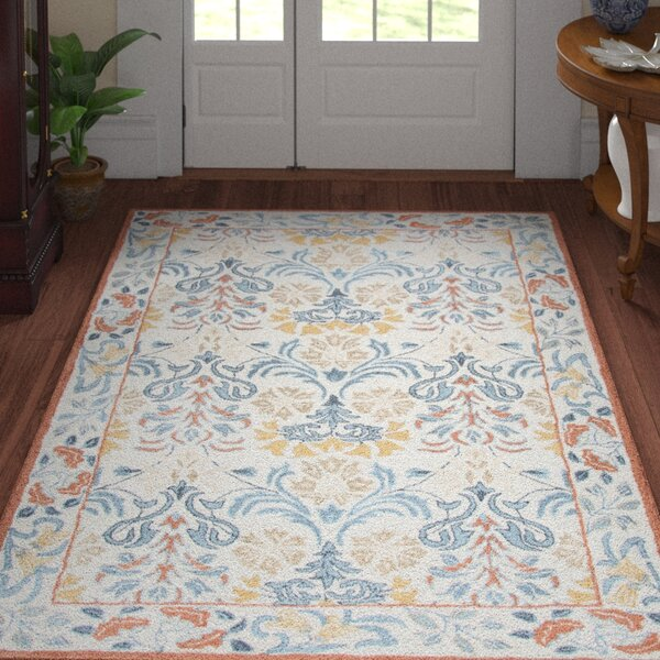 Nordmeyer Hand-Tufted Natural Area Rug by Three Posts