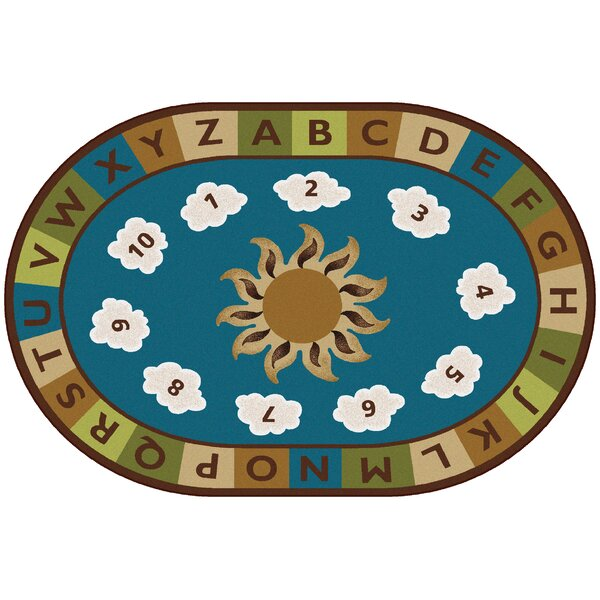 Sunny Day Learn and Play Kids Rug by Carpets for Kids