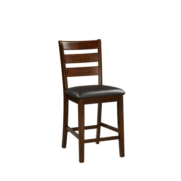 Hoerner Wooden Armless 24 Bar Stool (Set of 2) by Charlton Home