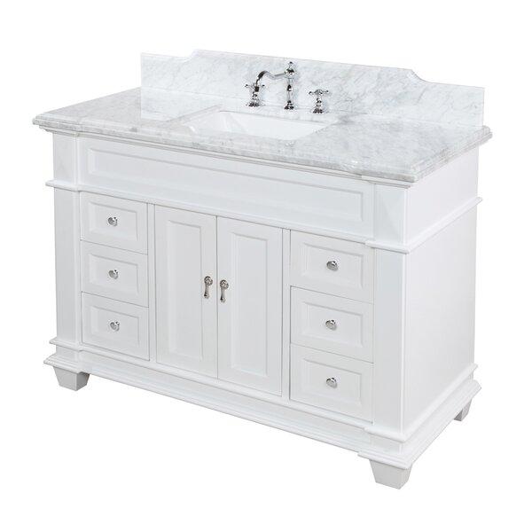 Elizabeth 48 Single Bathroom Vanity Set by Kitchen Bath Collection