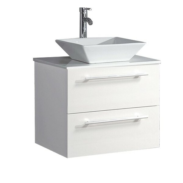 Govea Modern Wall Mounted 36 Single Bathroom Vanity Set by Ivy Bronx
