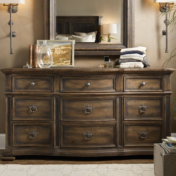 Hill Country 9 Drawer Dresser by Hooker Furniture