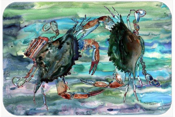 Watery Crabs Bath Rug