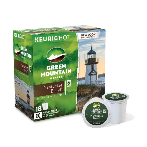 Green Mountain Coffee Roasters Nantucket Blend Coffee K-Cup (Pack of 108) by Keurig