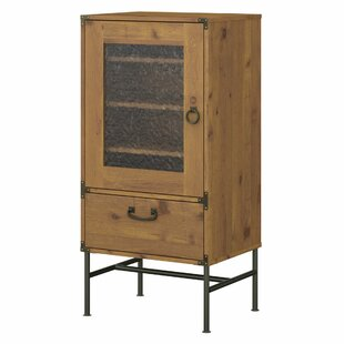 Ironworks Audio Cabinet by Kathy Ireland Home by Bush Furniture