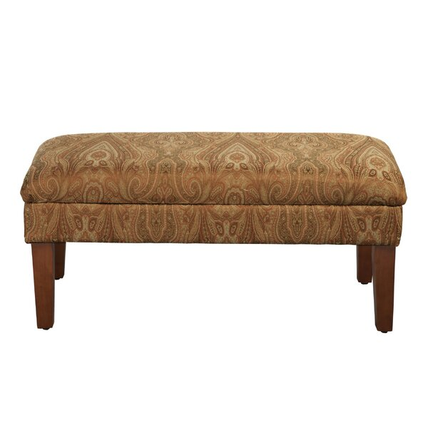 Rashid Upholstered Storage Bench by Canora Grey