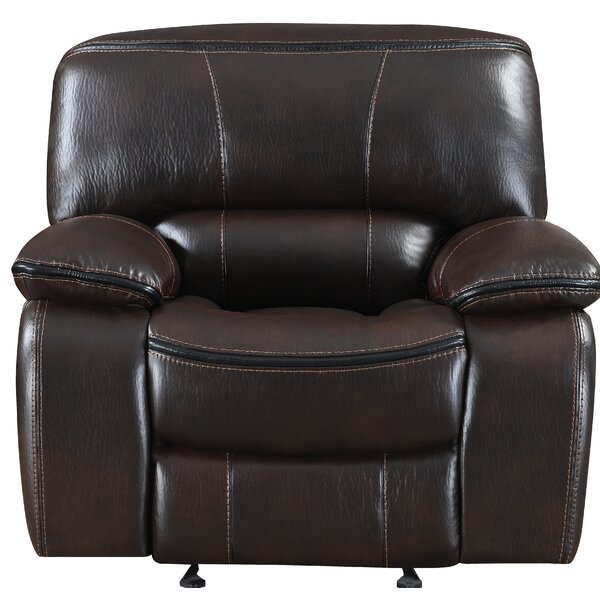 Vonda Miracle Manual Glider Wall Hugger Recliner W002594645
