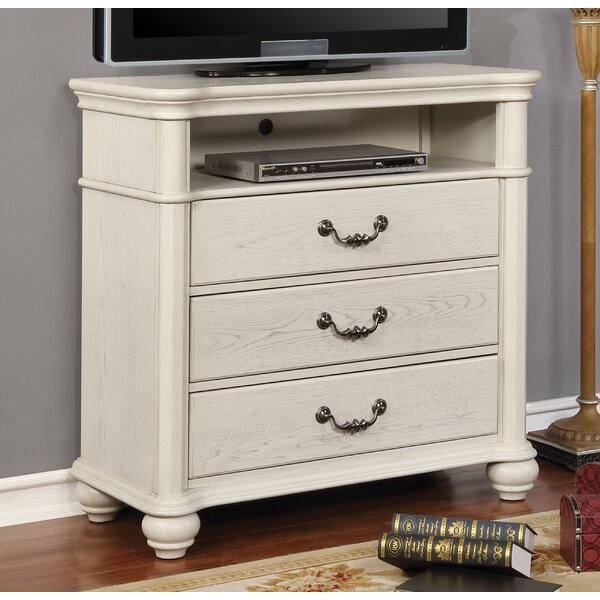 Aubrie 3 Drawer Chest By Rosdorf Park
