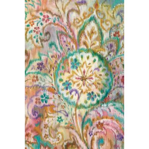 Boho Paisley I Painting Print on Wrapped Canvas by Bungalow Rose