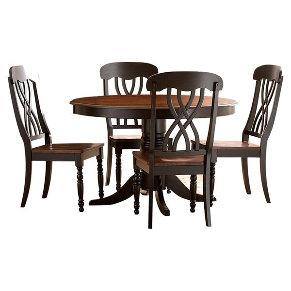 Danise 5 Piece Dining Set by Charlton Home Charlton Home