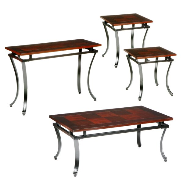 Gurley 4 Piece Coffee Table Set by Wildon Home ®