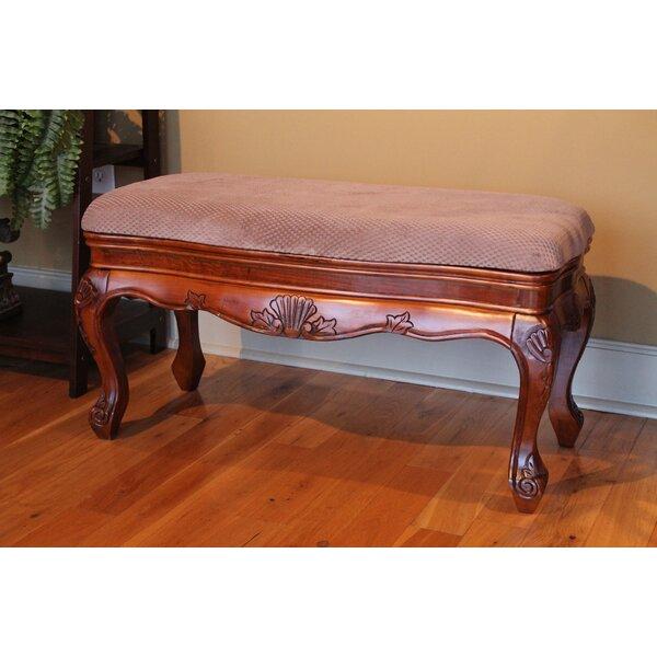 Windsor Vanity Bench by International Caravan