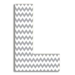 Tyrik Chevron Letter Hanging Initial