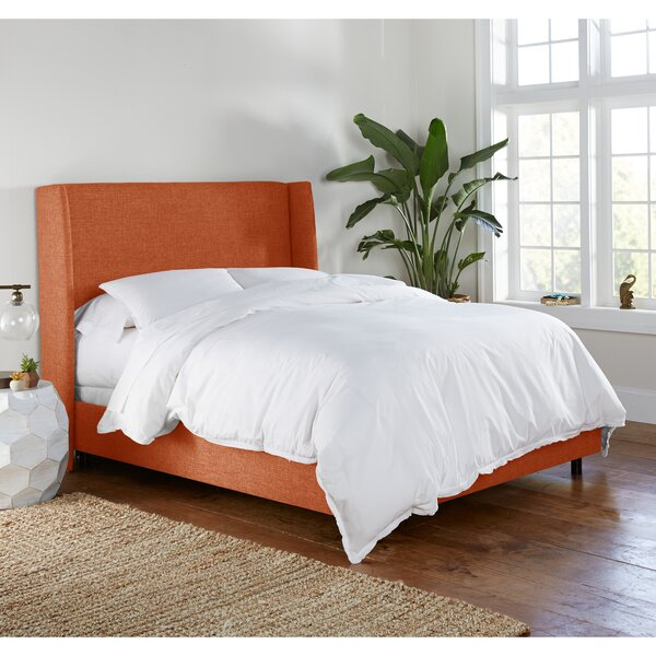 Alrai Upholstered Low Profile Standard Bed by Mercury Row Mercury Row