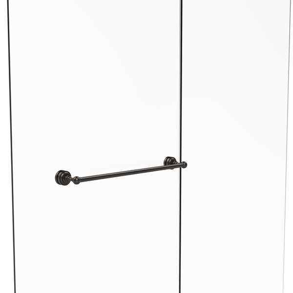 Dottingham Shower Door Wall Mounted Towel Bar by Allied Brass