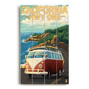 'California Highway One' Wall Art by Ivy Bronx
