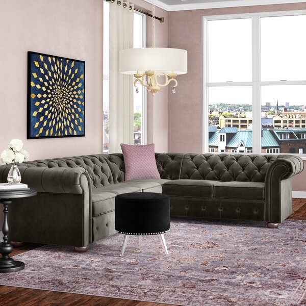 Perfect Shop Esai Reversible Sectional by Willa Arlo Interiors by Willa Arlo Interiors