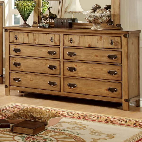 Torrino 8 Drawer Double Dresser by Hokku Designs