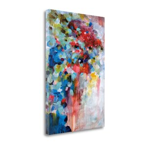 'Summer Symphony' Graphic Art Print on Wrapped Canvas by Tangletown Fine Art