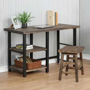 Veropeso Solid Wood Writing Desk