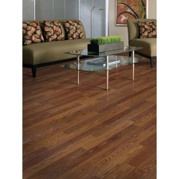 Genova 6 x 54 x 8mm Oak Laminate Flooring in Saddle Oak Plank by Mohawk Flooring