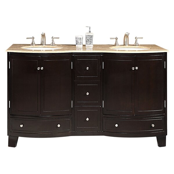 Vivaan 60 Double Bathroom Vanity Set by Darby Home Co