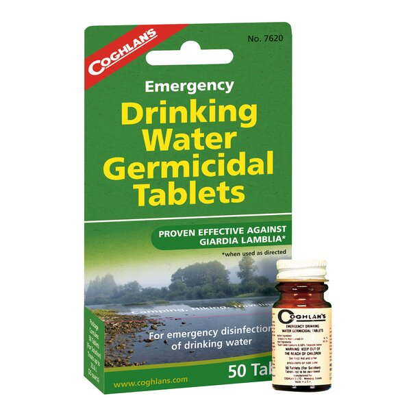 Emergency Drinking Water Tablets by Coghlans