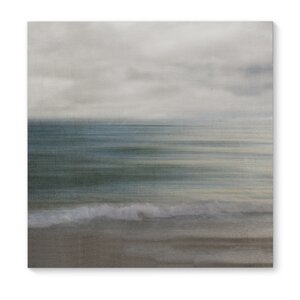 'Beach Days' Painting Print on Wrapped Canvas by KAVKA DESIGNS