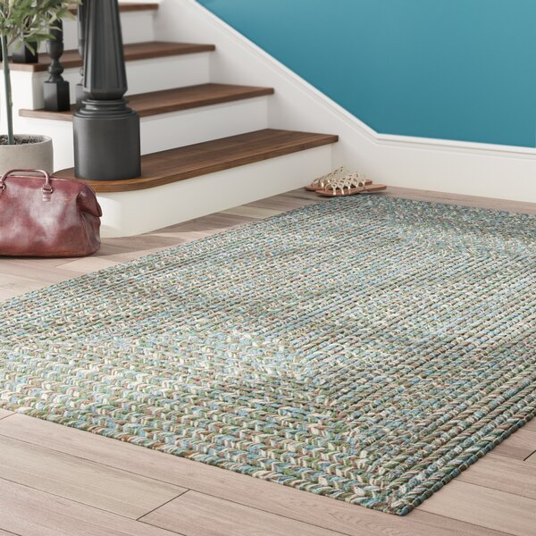 Beltran Seagrass Braided Area Rug by Winston Porter