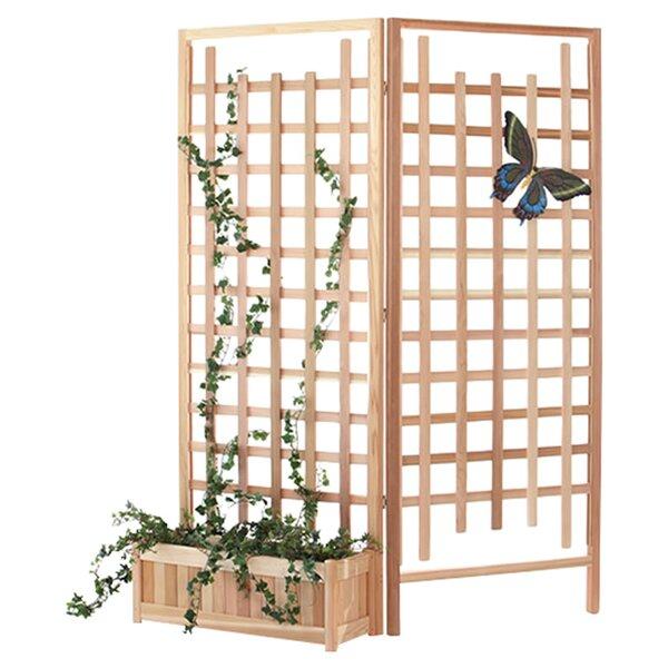 3 Piece Wood Trellis Set by All Things Cedar