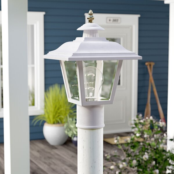 Halliday Outdoor 1-Light Lantern Head by Breakwater Bay