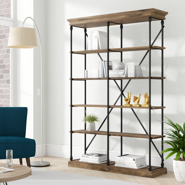 Beckwith Etagere Bookcase by Greyleigh