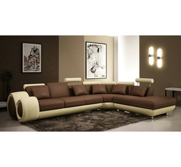 Melrose Inclining Sectional by Hokku Designs