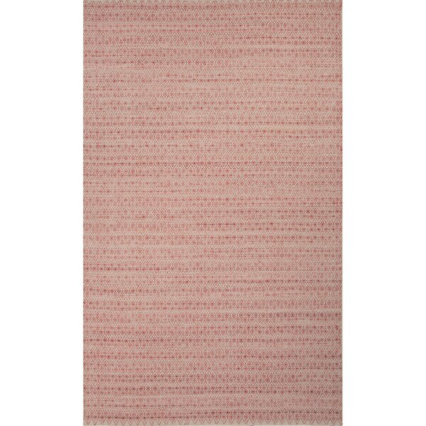 Turton Red/Taupe Solid Area Rug by Gracie Oaks