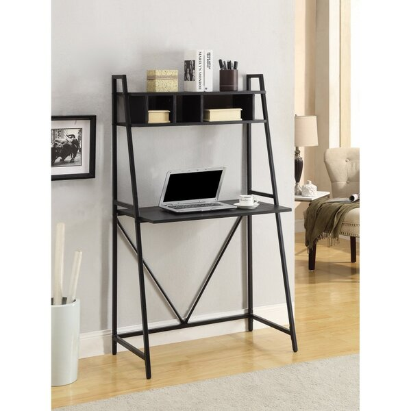 Keever Metal Ladder Desk by Winston Porter