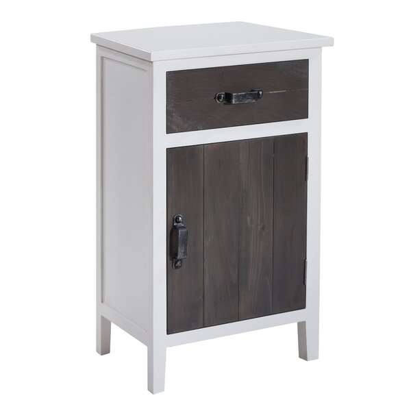 Charan 1 Drawer Nightstand by Gracie Oaks