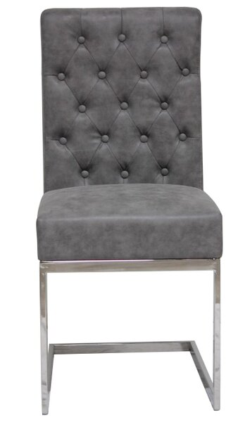 Cambell Modern Tufted Side Chair by Williston Forge