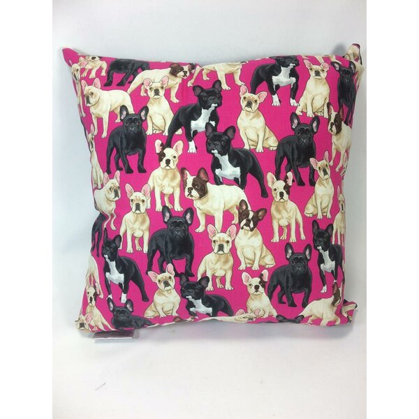French Bulldog Throw Pillow by East Urban Home